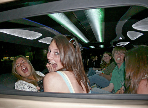 Sweet 16 Birthday Limo Hire