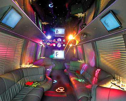 Burton-On-Trent Party Bus Limo Hire