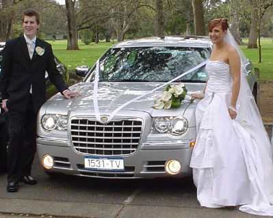 Wedding Car Chrysler Limo Hire