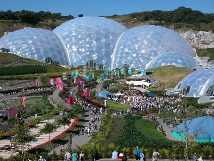 Eden Project limo hire