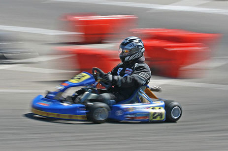 Go Karting Limo Hire