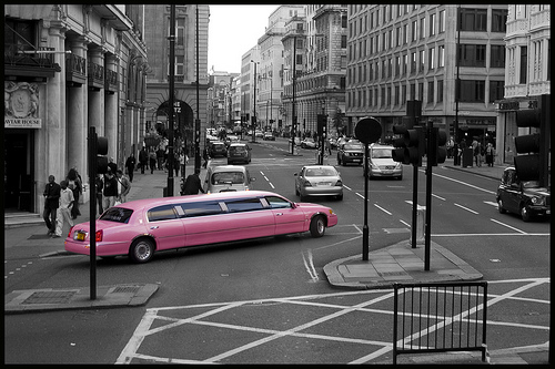 Harlow Pink Limo Hire Limo Hire