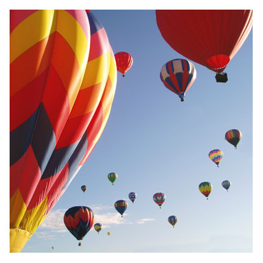 Limo Hire Hot Air Balloon