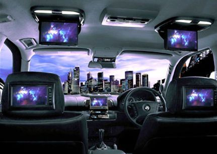 Limousine ICE (In-Car Entertainment) Limo Hire