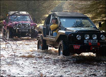 Off Roading Limo Hire