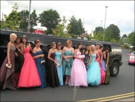 School Prom Hummer Limo Hire