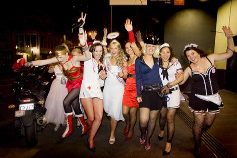Stafford Hen Night Limo Hire