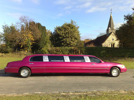 Stafford Pink Limo Hire