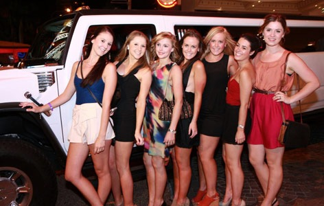 Cheap White Hummer Limo HIre