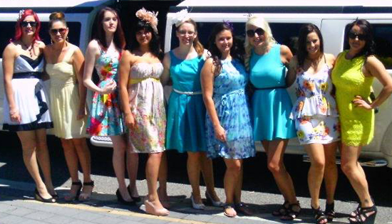 London White Hummer Limo Hire